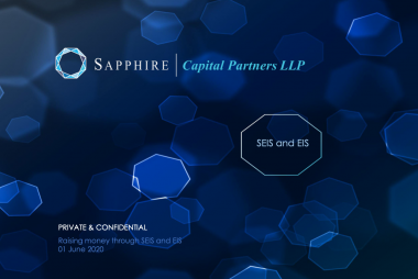 Raise money through SEIS and EIS with Raise Ventures, Johnathan Graham and Sapphire Capital Partners